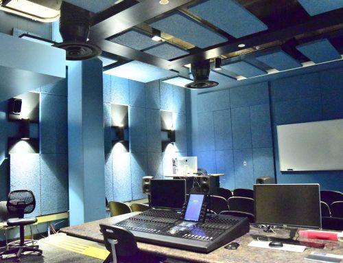 Supply and install Voyageur Theater Lab acoustic and Laser Lab Renovation