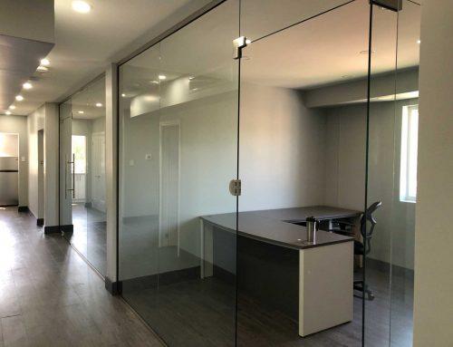 Interior renovation at WeCare Dental Office
