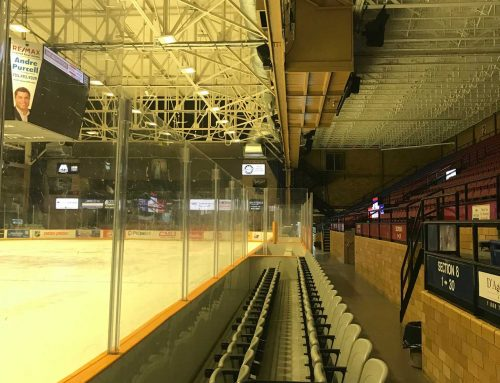 North-Bay Memorial garden arena